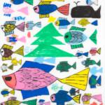 kyotoshi_40枷場千津子「Fishes」2019.462.432
