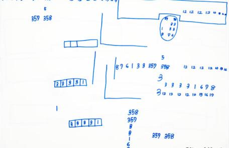 Kyotoshi_276髙平あきら「無題(数字シリーズ)」2020.395.545
