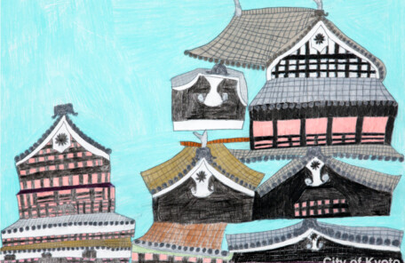 Kyotoshi_289小寺由理子「熊本城」2017.380.540