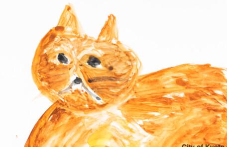 Kyotoshi_308松岡千鶴子「猫」2020.297.210