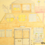 Kyotoshi_366山下吉治「夢の家」230.300